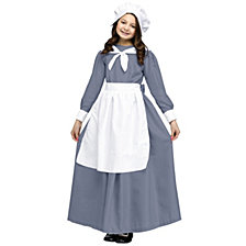 Pilgrim Girl Big Girls Costume