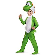 Super Mario Bros Yoshi Toddler Boys Costume