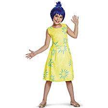 Disney Inside Out Classic Joy Costume For Little Girls