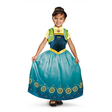 Anna Frozen Fever Deluxe Big Girls Costume