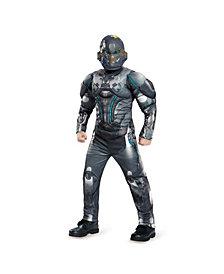 Halo Spartan Locke Classic Muscle Big Boys Costume
