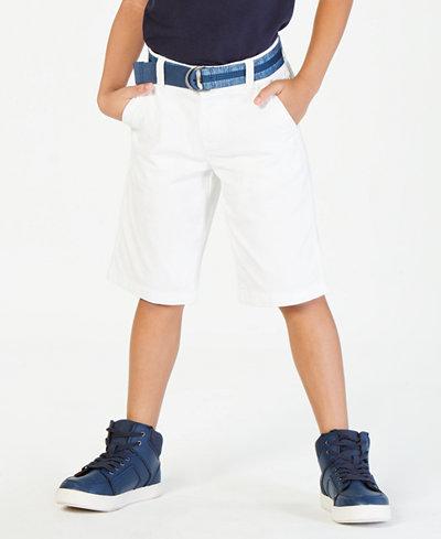 Tommy Hilfiger Big Boys Dagger Twill Shorts