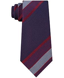 Kenneth Cole Reaction Men's Highlight Stripe Slim Tie