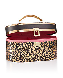 Juicy Couture Leopard-Print Storage Box
