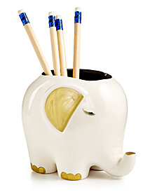 Tri-Coastal Design Elephant Pencil Holder