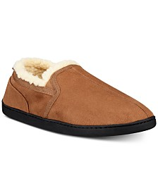 Gold Toe Men's Twin Gore Faux-Suede Slippers