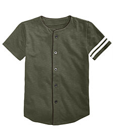 Jaywalker Big Boys Baseball Jersey
