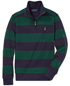 Polo Ralph Lauren Big Boys Striped Cotton Pullover