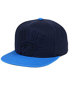 Mitchell & Ness Oklahoma City Thunder Cropped Satin Snapback Cap