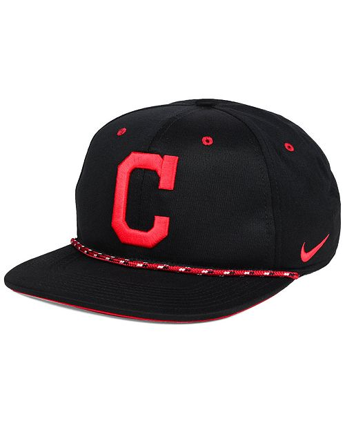 new arrival fac59 8732b Nike Cleveland Indians String Bill Snapback Cap ...