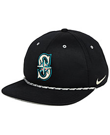 Nike Seattle Mariners String Bill Snapback Cap
