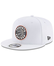 New Era Toronto Raptors Enamel Badge 9FIFTY Snapback Cap