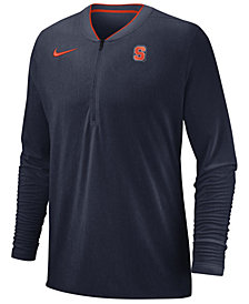 Nike Men's Syracuse Orange Coaches Quarter-Zip Pullover 2018