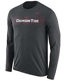 Nike Men's Alabama Crimson Tide Legend Sideline Long Sleeve T-Shirt 2018