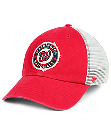 '47 Brand Washington Nationals Tally CLOSER Stretch Fitted Cap