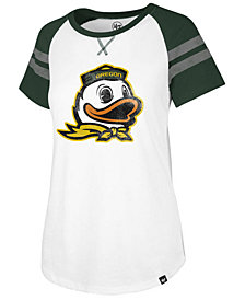 '47 Brand Women's Oregon Ducks Fly Out Raglan T-Shirt