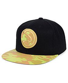 Mitchell & Ness Atlanta Hawks Natural Camo Snapback Cap