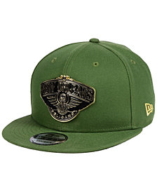 New Era New Orleans Pelicans Enamel Badge 9FIFTY Snapback Cap