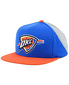 Mitchell & Ness Oklahoma City Thunder Curved Mesh Snapback