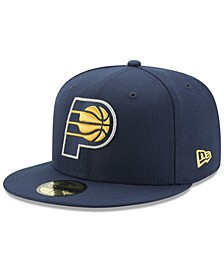 Indiana Pacers Basic 59FIFTY Fitted Cap 2018