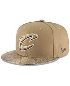 Cleveland Cavaliers Snakeskin Sleek 59FIFTY FITTED Cap