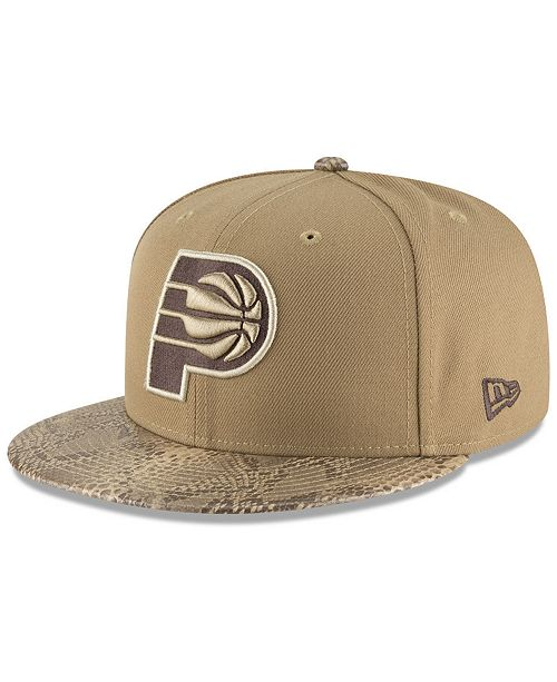 New Era Indiana Pacers Snakeskin Sleek 59FIFTY FITTED Cap