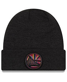 New Era Golden State Warriors Fresh Front Cuff Knit
