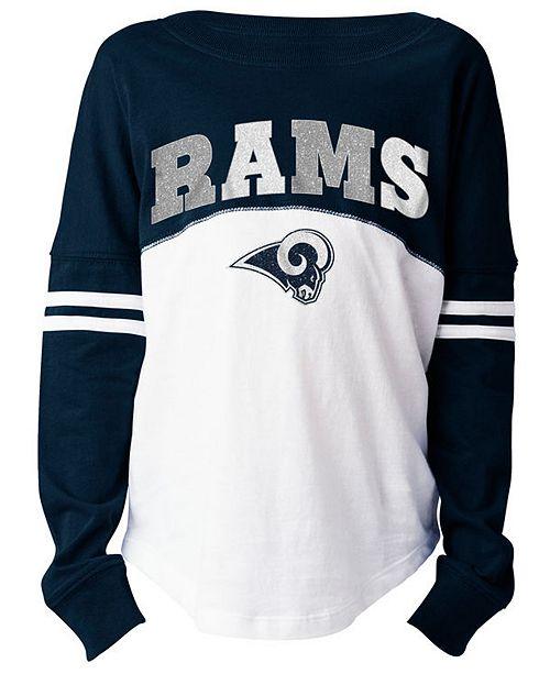 5th   Ocean Los Angeles Rams Slub Long Sleeve T-Shirt 3fab2192c