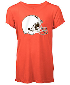5th & Ocean Cleveland Browns Logo T-Shirt, Girls (4-16)
