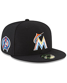 New Era Miami Marlins 9-11 Memorial 59FIFTY FITTED Cap