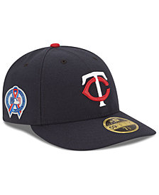 New Era Minnesota Twins 9-11 Memorial Low Profile 59FIFTY FITTED Cap
