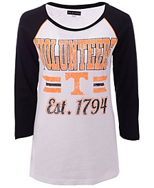 Women's Tennessee Volunteers Team Stripe Raglan T-Shirt