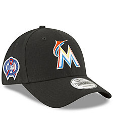 New Era Miami Marlins 9-11 Memorial 9FORTY Cap