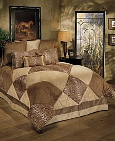 Sherry Kline Safari Royale 4-Piece Comforter Set, Queen