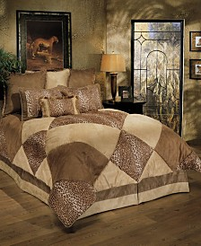 Sherry Kline Safari Royale 4-Piece Comforter Set, Queen