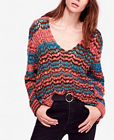 Free People Spell On You Striped Sweater