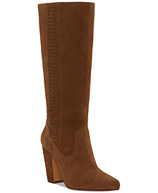 Vince Camuto Coranna Laced Side-Eyelet Boots