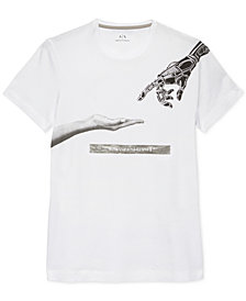 A|X Armani Exchange Men's Hands Graphic T-Shirt