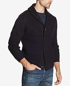 Weatherproof Vintage Men's Shawl Collar Toggle Cardigan