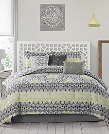Celia 7 Pc Queen Comforter Set