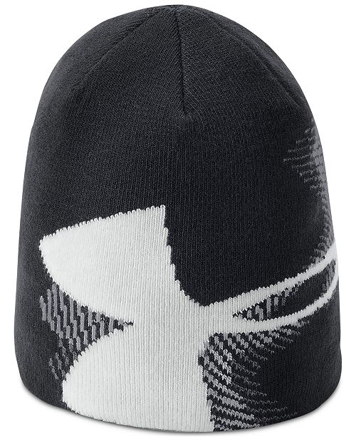 263453638e Under Armour Big Boys Billboard Beanie Hat & Reviews - All Kids ...