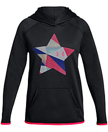 Under Armour Big Girls Star-Print Hoodie