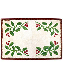 "Dena Holiday Novueau 20"" x 30""  Bath Rug"