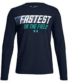 Under Armour Big Boys Fastest-Print T-Shirt