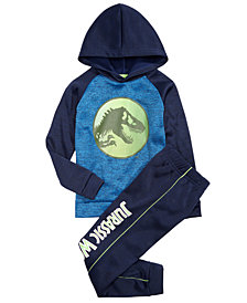 Jurassic World Toddler Boys 2-Pc. Fleece Hoodie & Pants Set