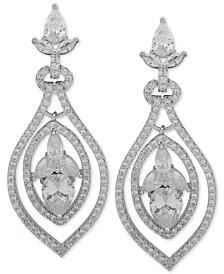 Jenny Packham Crystal Orbital Drop Earrings