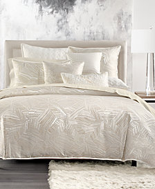 Hotel Collection Alabastar Full/Queen Duvet Cover, Created for Macy's