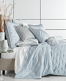 Dimensional Coverlet Collection, Created for Macy's
