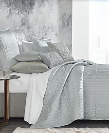 Hotel Collection Lithos Coverlet Collection, Created for Macy's