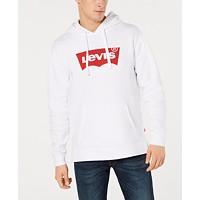 Deals on Levis Mens Fleece Logo Hoodie
